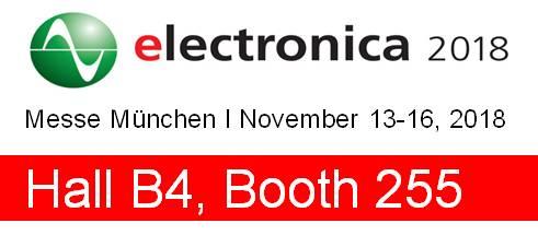 Electronica 13-16 Nov 2018