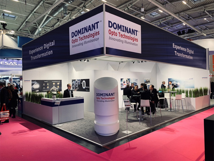 Dominant in Electronica 2018
